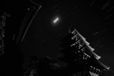 初心者の星の撮影 in奈良